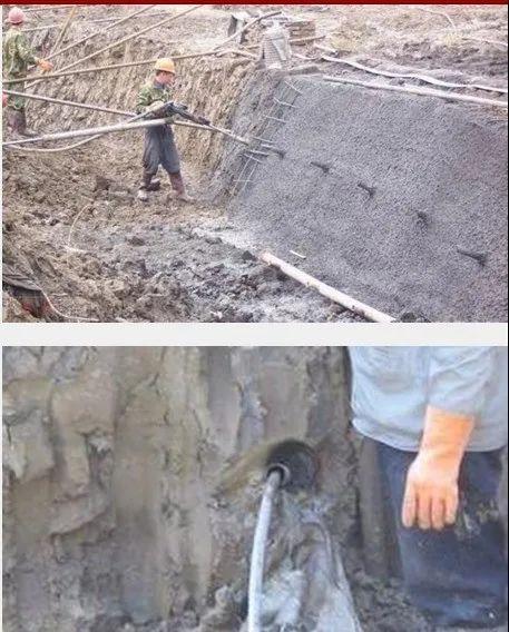 各种基坑支护结构施工工艺流程解析_38