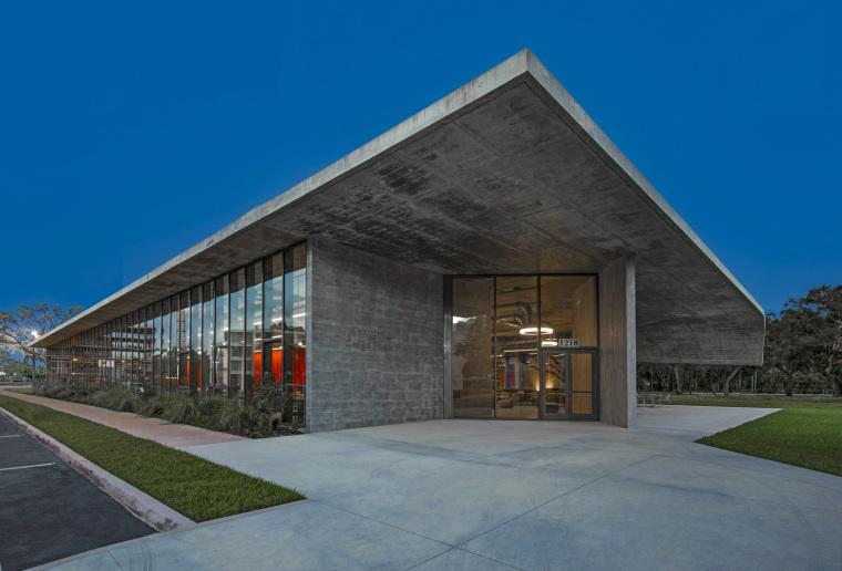 美国迈阿密大学建筑学院外部实景图17