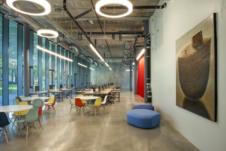 美国迈阿密大学建筑学院内部实景图1