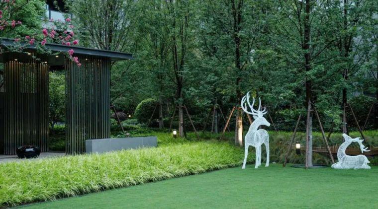 雕塑装置,景观中的点睛之笔_47
