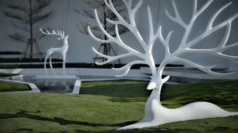 雕塑装置,景观中的点睛之笔_50