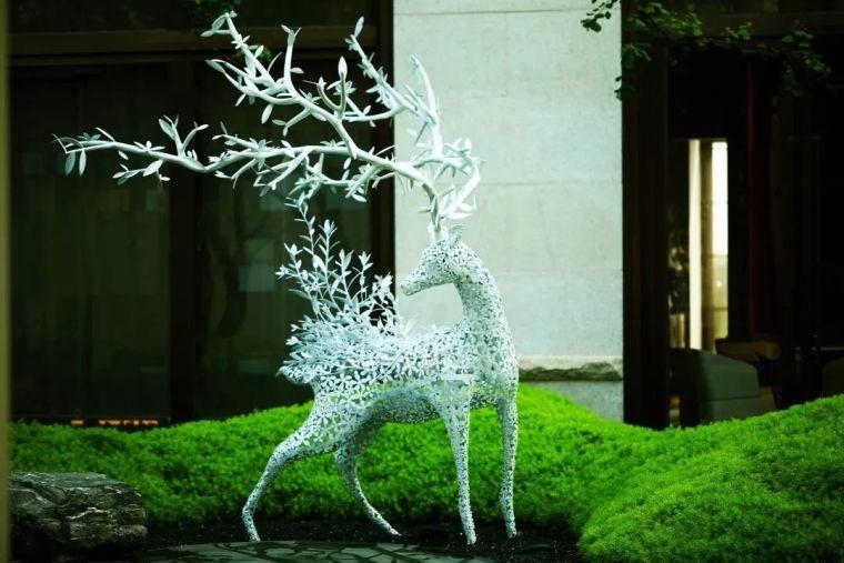 雕塑装置,景观中的点睛之笔_51