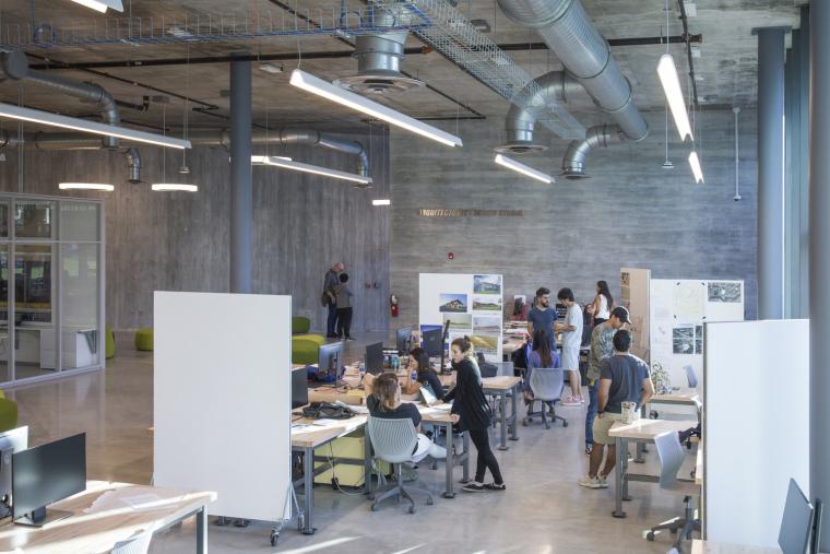 美国迈阿密大学建筑学院内部实景图12