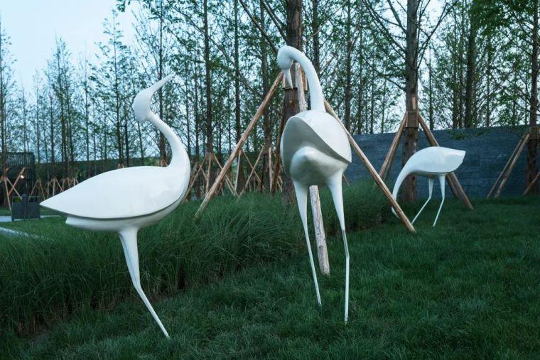 雕塑装置,景观中的点睛之笔_69