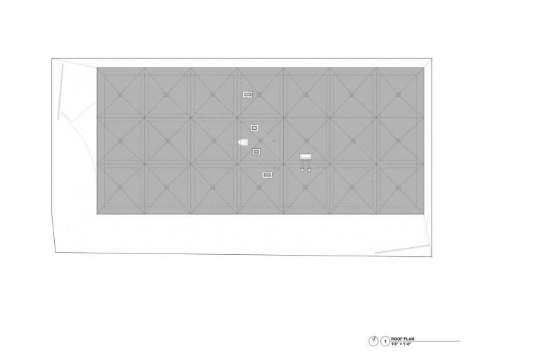 美国迈阿密大学建筑学院平面图3