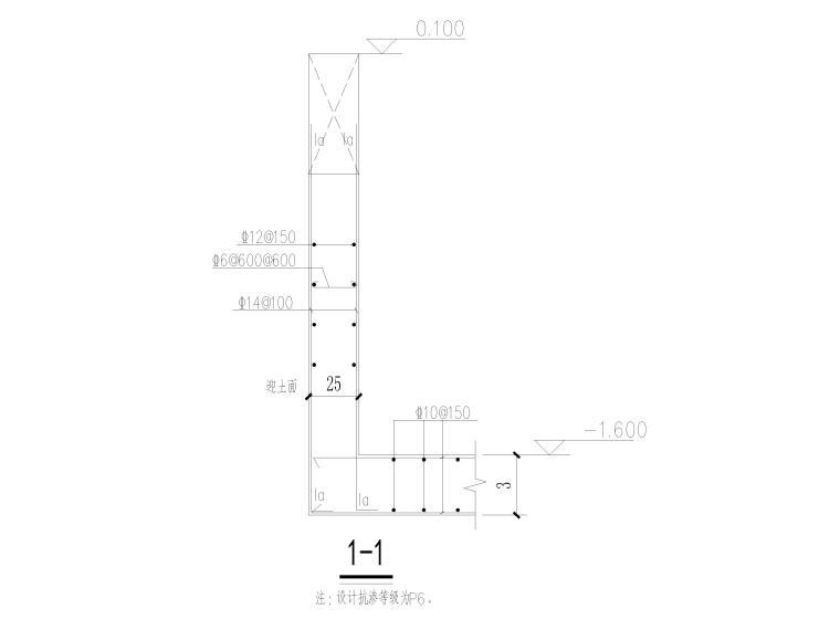 [宜春]3层框架结构仓库结构施工图2016-梁剖面详图
