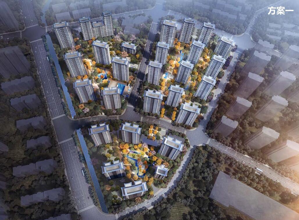 浙江杭州禅意中式住宅规划建筑方案设计2020