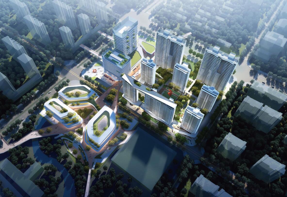 理想多元化未来社区住宅规划建筑方案设计