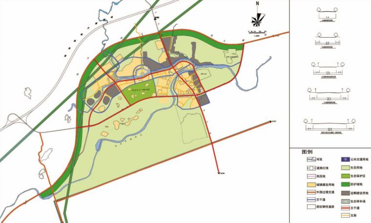 [四川]成都主题文化旅游产业园景观规划-交通体系规划