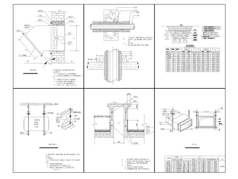 [北京]科技产业园办公楼暖通施工图-[北京]三层办公楼散热器采暖及空调通风设计-暖通节点详图