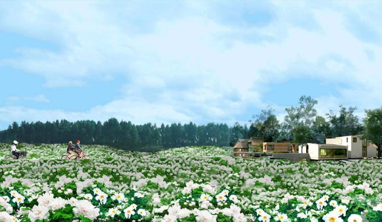 [四川]成都主题文化旅游产业园景观规划-效果图3