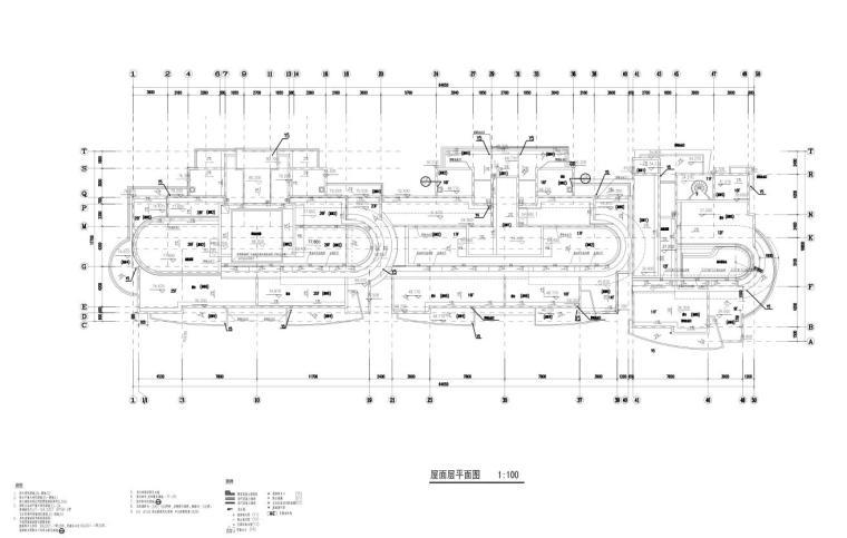 上海现代风高层1梯2户户型图设计 (11)
