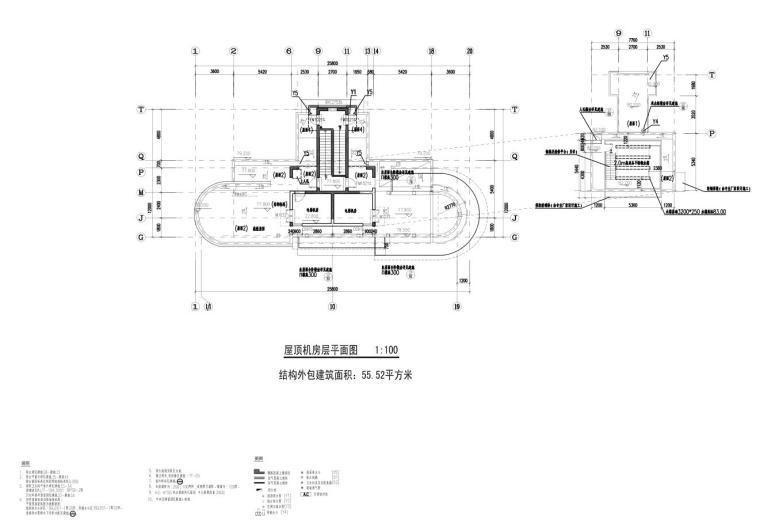 上海现代风高层1梯2户户型图设计 (10)