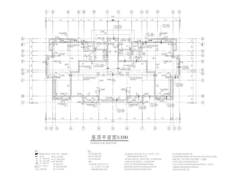深圳1梯2户高层住宅户型图设计 (9)