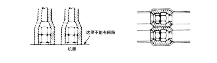 多层综合楼通风空调施工方案-多层框架结构高速服务区通风空调施工方案-06 配管连接和穿墙