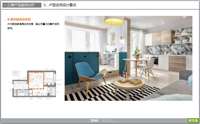 公寓户型设计研发及户型案例分析(图文)-集中的活动空间