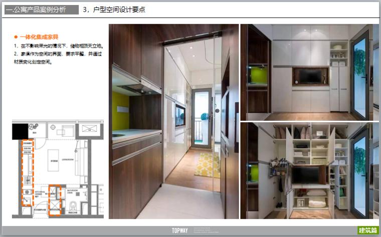 公寓户型设计研发及户型案例分析(图文)-一体化集成家具