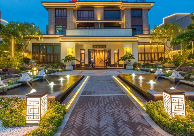 知名地产中式别墅项目示范区打造及拓展方式