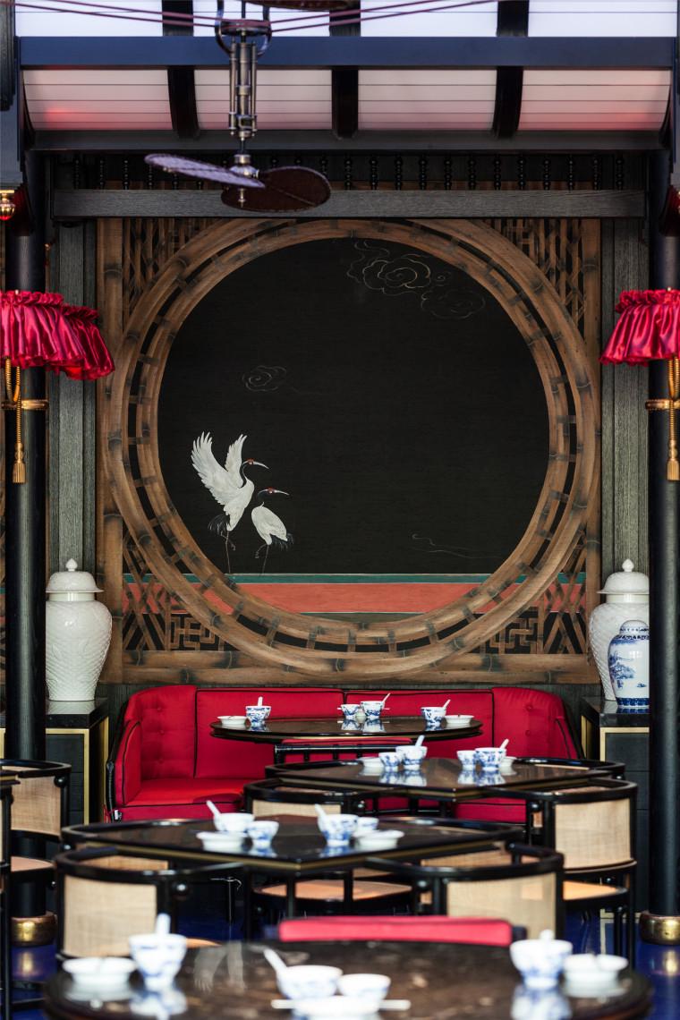 得云茶楼成都太古里店丨平面分析+官方摄影-Tak Wen Tea House-46