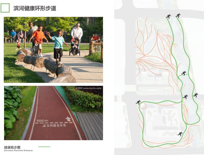 杭州智慧网谷整体城市规划设计方案文本2020-滨河健康环形步道