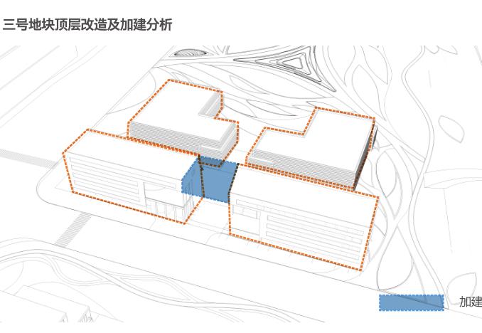 杭州智慧网谷整体城市规划设计方案文本2020-三号地块顶层改造及加建分析