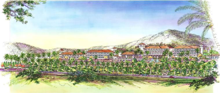 [海南]三亚旅游休闲度假酒店景观设计方案-酒店景观效果图