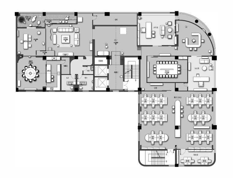 1000㎡设计事务所办公室官方摄影丨57P-2020061023950_54