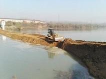 河道治理围堰填筑施工组织设计