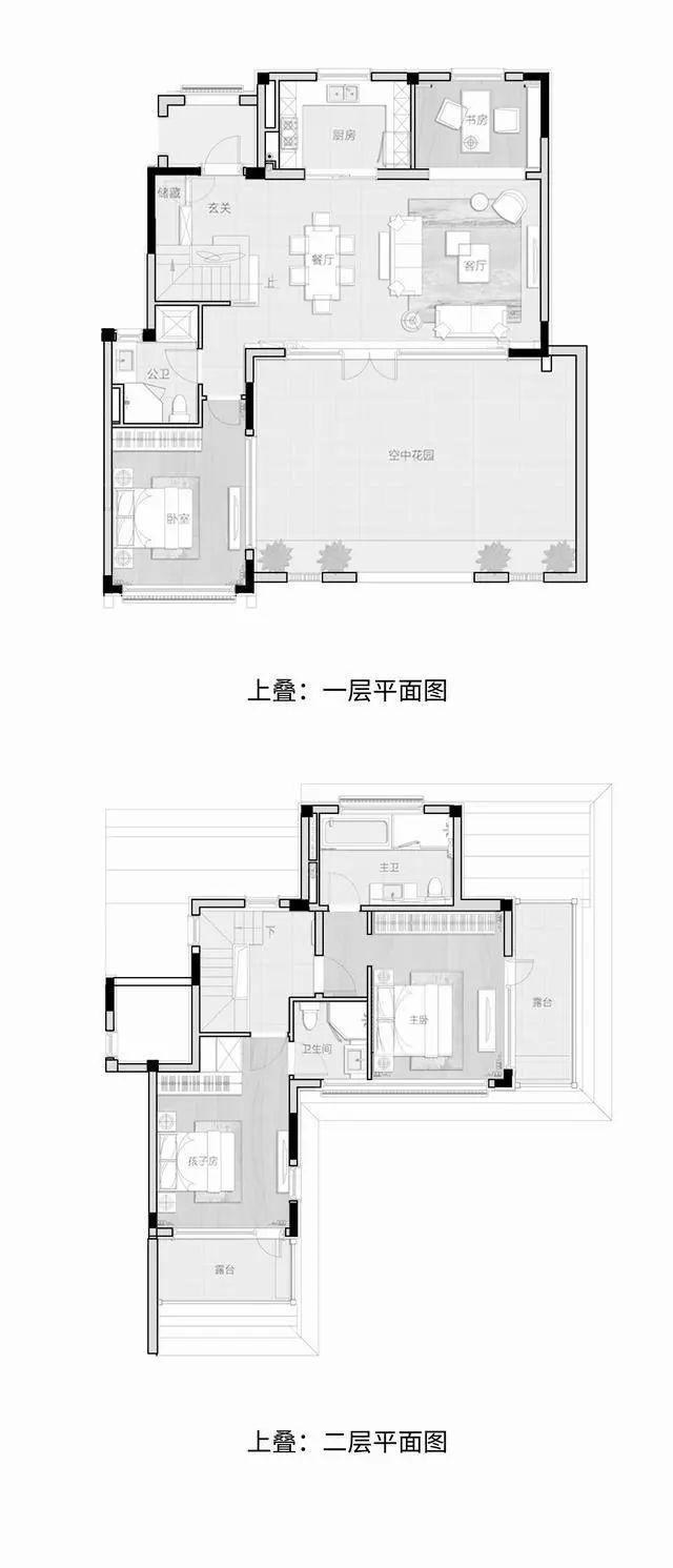 高容积率、多庭院|新中式叠院的颠覆性革命_20