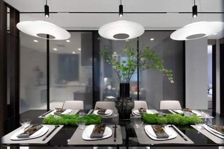 金属、大理石、皮革,精致自然的高品质空间_11