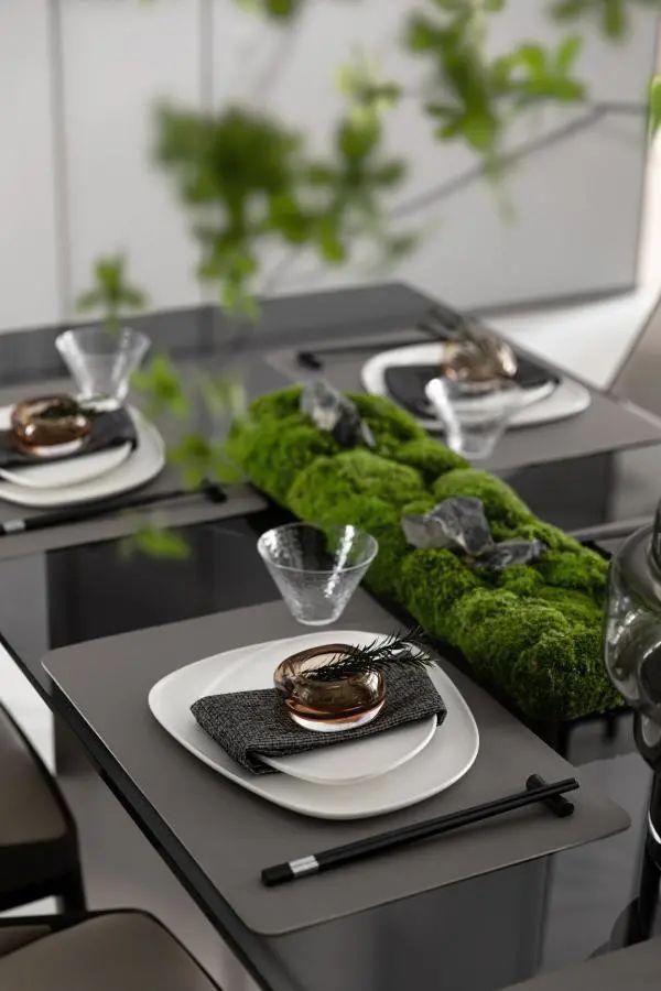 金属、大理石、皮革,精致自然的高品质空间_15