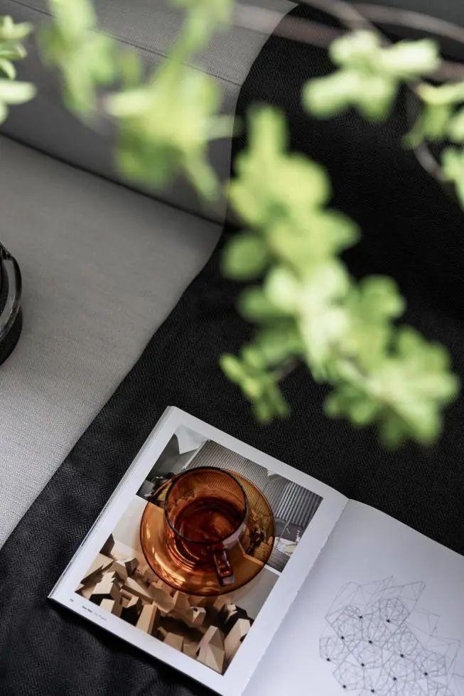 金属、大理石、皮革,精致自然的高品质空间_30