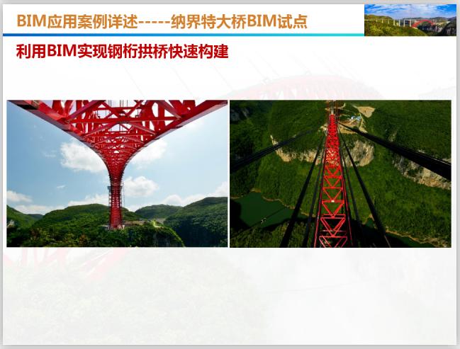 BIM应用发展规划与案例详述(101页)-BIM快速构建钢桁拱桥