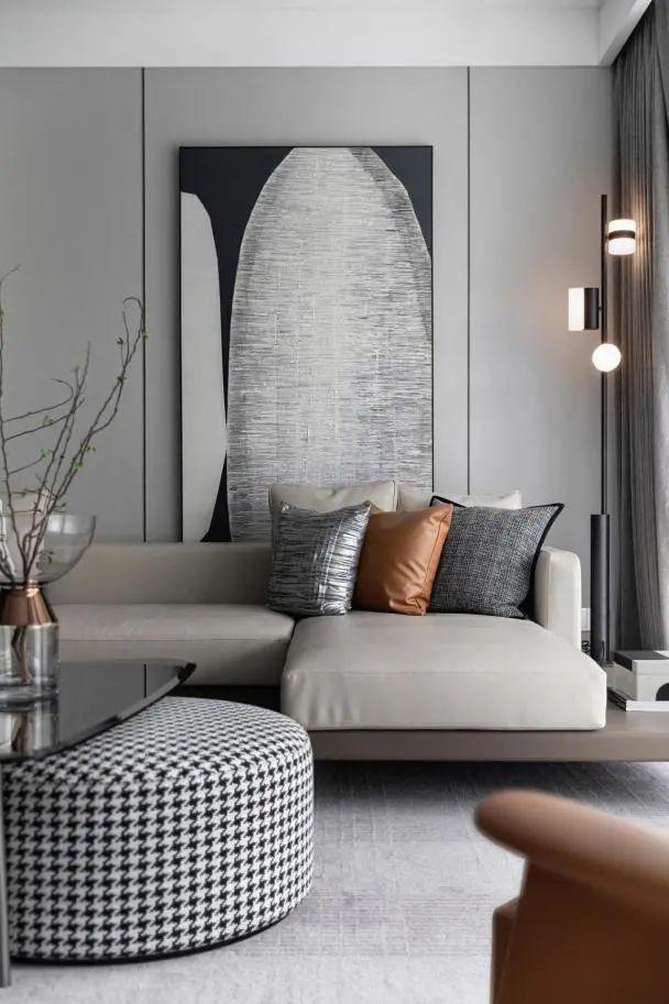 金属、大理石、皮革,精致自然的高品质空间_5