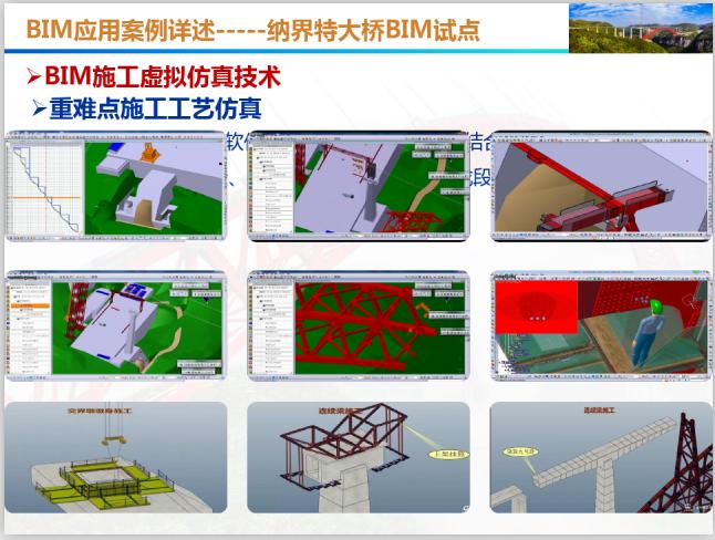 BIM应用发展规划与案例详述(101页)-重难点施工工艺仿真