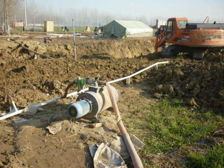 污水处理厂基坑降水方案-施工方案