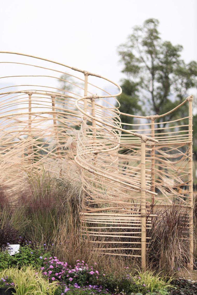 成都第三届北林国际花园建造节竹构装置实景图27