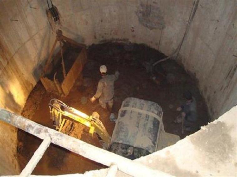 沉井工程施工方案-工程施工