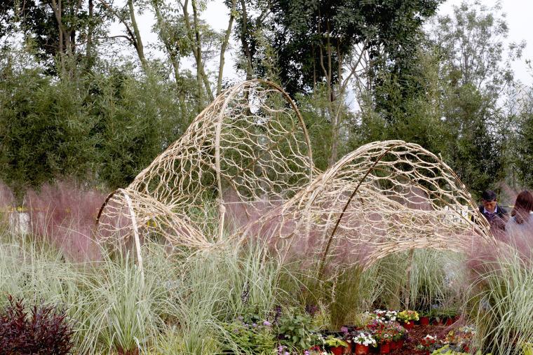 成都第三届北林国际花园建造节竹构装置实景图30