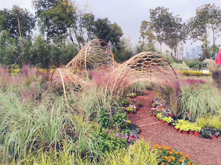 成都第三届北林国际花园建造节竹构装置实景图32