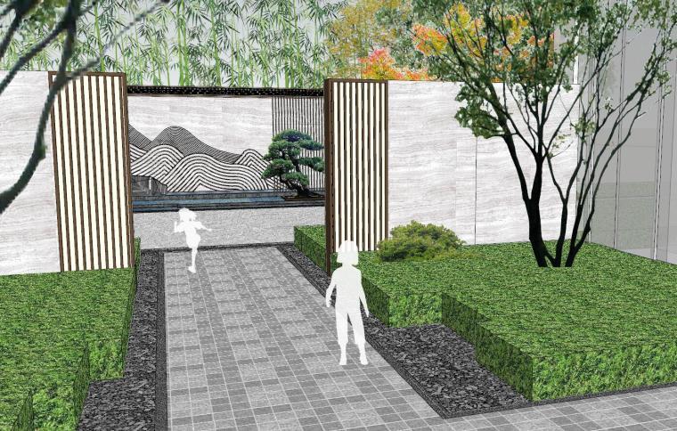 [福建]晋江新中式嘉天下原著大区景观模型-晋江新中式嘉天下原著大区景观模型设计 (5)