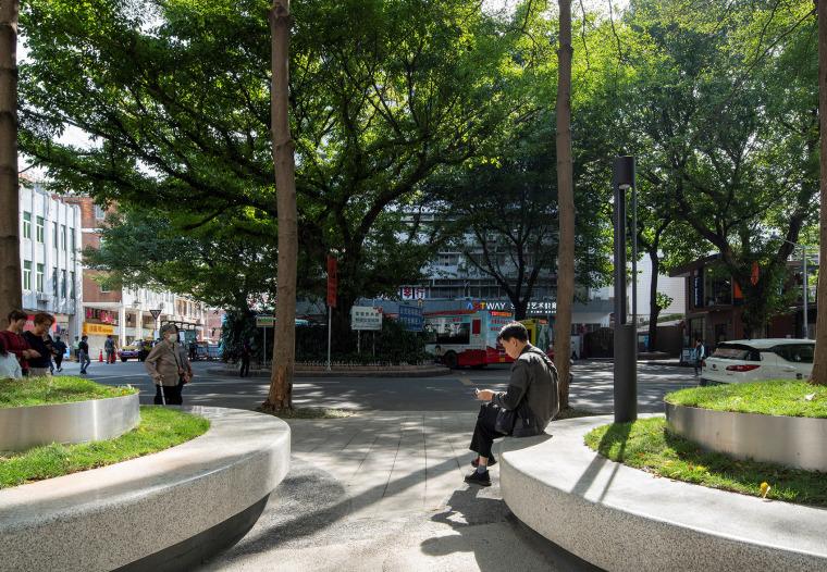 广州东山少爷南广场社区公园改造实景图7