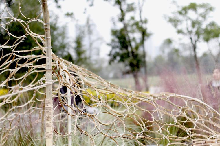成都第三届北林国际花园建造节竹构装置实景图33