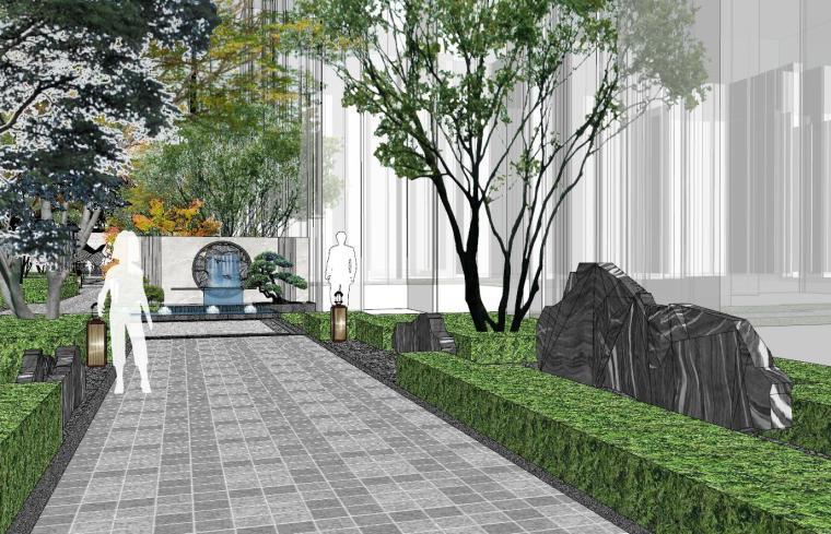 [福建]晋江新中式嘉天下原著大区景观模型-晋江新中式嘉天下原著大区景观模型设计 (7)