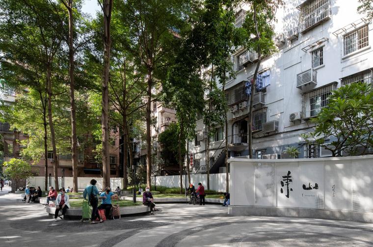 广州东山少爷南广场社区公园改造实景图9