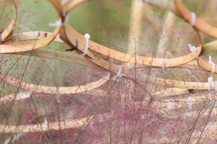 成都第三届北林国际花园建造节竹构装置实景图36