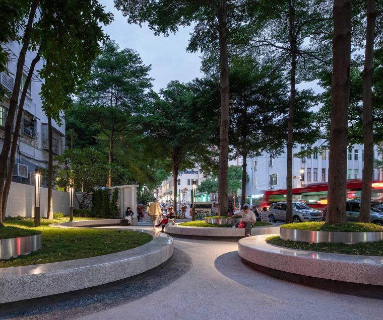 广州东山少爷南广场社区公园改造实景图12