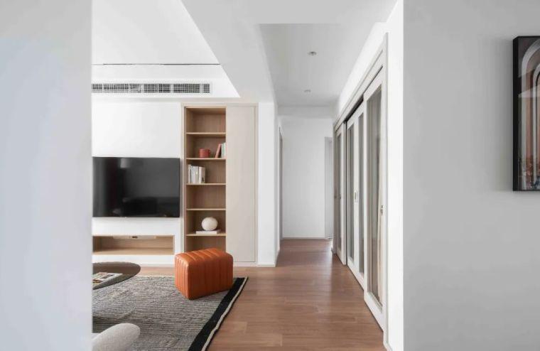 """收纳墙与三大""""空间折叠""""让这个家倍感舒适_7"""