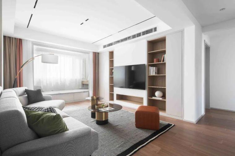 """收纳墙与三大""""空间折叠""""让这个家倍感舒适_9"""