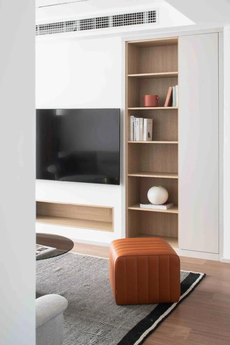 """收纳墙与三大""""空间折叠""""让这个家倍感舒适_8"""